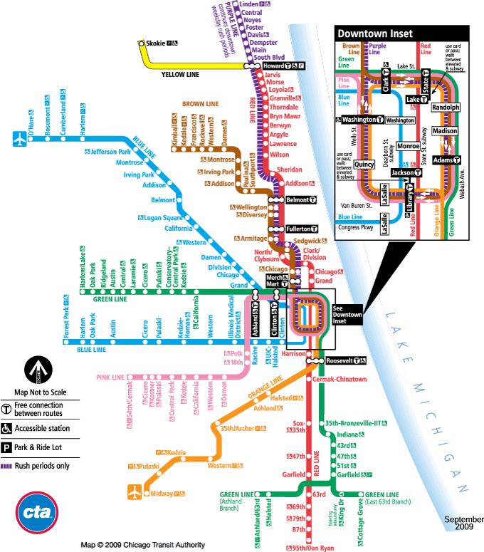 Cta MetroMap